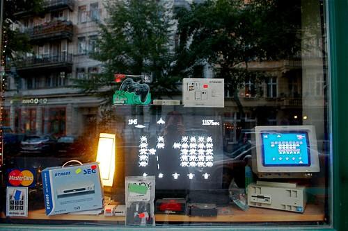 Computerladen in der Niederbarnimstraße - Foto: Henning Onken