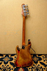Rick's 1966 Fender Jazz Bass - back