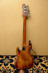Rick's 1966 Fender Jazz Bass - back