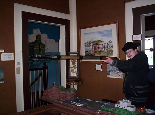 05 Checking out the muskets