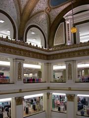 Old Marshall Field's Store Floors (Blue-Sky Pink) Tags: chicago floors shopping downtown loop mosaic atrium marshallfield imagesbytakache