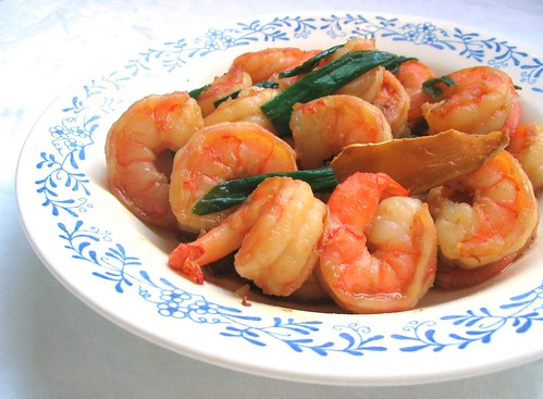 Simplest Shrimp Stir Fry
