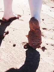 Mud Ballet (robberflies) Tags: utah dancing roadtrip dirt messy muddy flailing strikingapose oldparia mudmoccasin