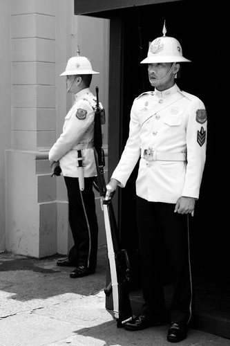 guardians, guards at bangkok