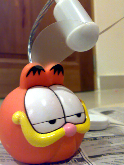 Garfield USB Fan (After)