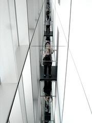 Me reflected to infinity (Daniela Masiello) Tags: reflection me mirrors moma instillation selfer