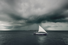 silent conversation with the sky (muha...) Tags: life voyage travel blue sea sky storm reflection green strange beautiful angel dark island moving wings nikon flickr earth aerial safari silence sail conversation maldives muha abigfave muhaphotos bwartaward