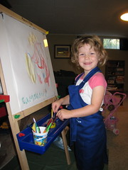 Cameron painting