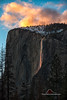 Yosemite's Natural Firefall (Darvin Atkeson) Tags: california yosemite national park halfdome elcapitan bridalveil forest sierra nevada mountains clouds rest valley canyon glacier darv darvin lynneal atkeson yosemitelandscapescom