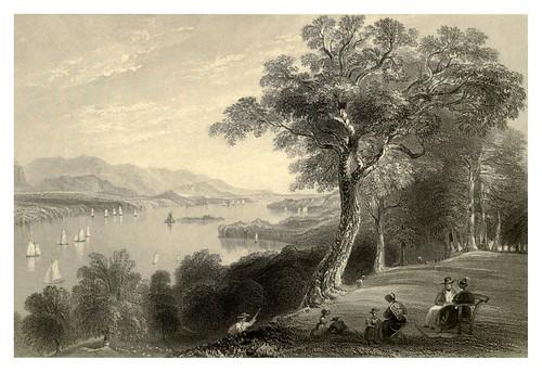 005-Vista desde Hyde Park rivera del Hudson 1840