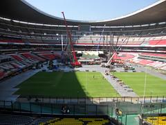 Quinto día de montaje - Estadio Azteca 34