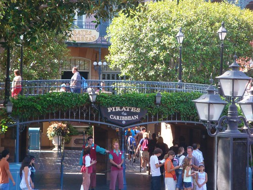 Disneyland exterior