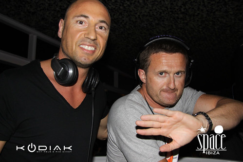 DJ Iban Reus and Rad Damon aka KODIAK @Space Ibiza Opening 2011 5817551921_55a91dea4a