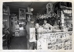 "Charles Bailey ""Dad Bailey's"" (Bodie Bailey) Tags: california family history blackwhite losangeles 1940s comicbooks newsstand charlesbailey"