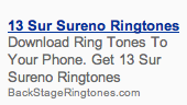 Sureno 13 Ringtones