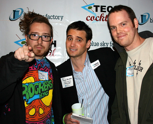 Harper Reed & Atkins of Threadless with Frank Gruber at TECH cocktail Chicago 6