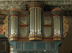 Rodenkirchen, Wesermarsch, Matthäuskirche,  organ (groenling) Tags: organ westend façade orgel matthäuskirche rodenkirchen 1758 prospekt klapmeyer wesermarsch stadland
