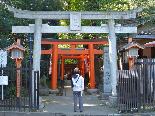 Torii near Ueno
