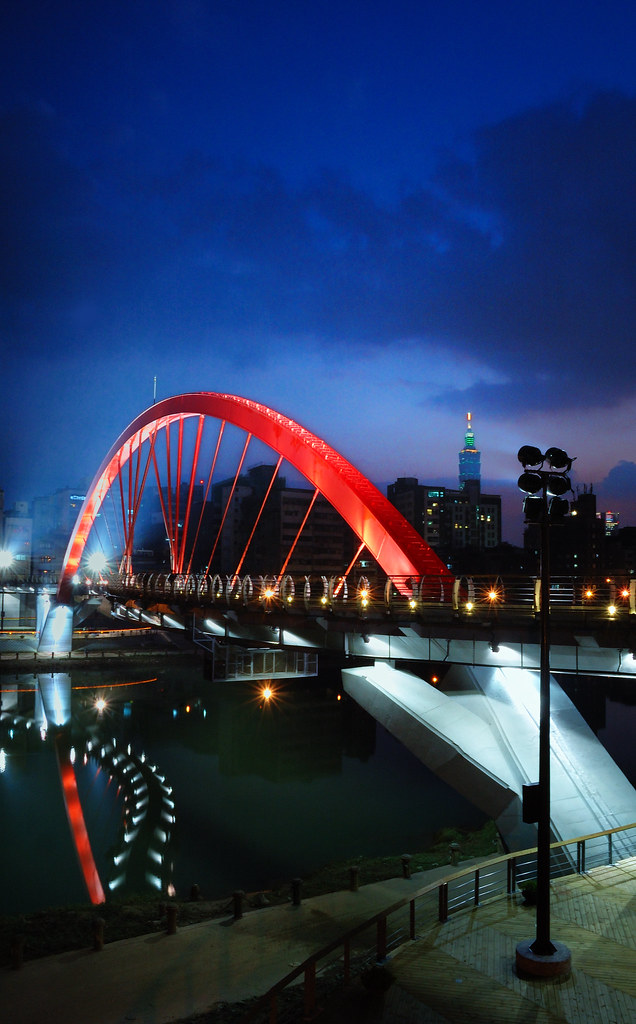 Rainbow Bridge in Taipei