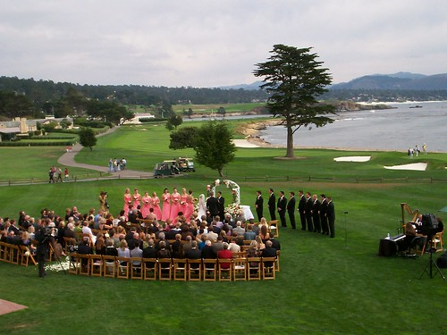 pebble beach pro ocean view close to home pretty much my dream wedding