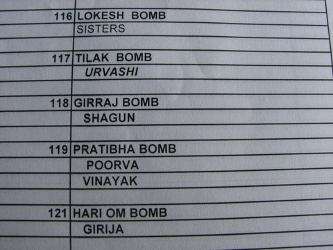 The Bombs one