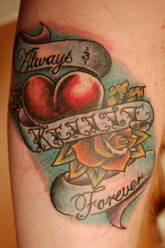 Love Forever Tattoo Design