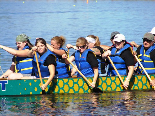 Rita in Dragon Boat