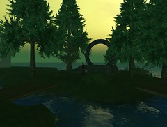 Alteran Stargate viewed with SL's WindLight