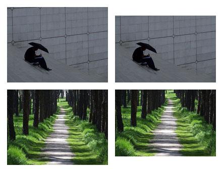 Comparación de fotos en 4:3 respecto a 3:2