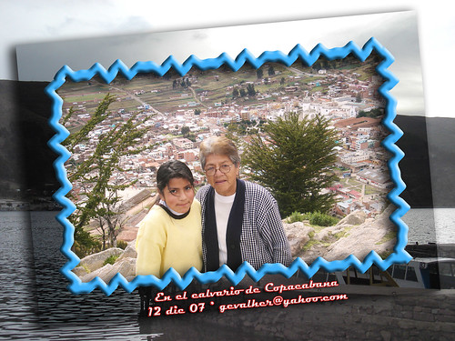 Nicole Marina Gary en el calvario Copacabana 02