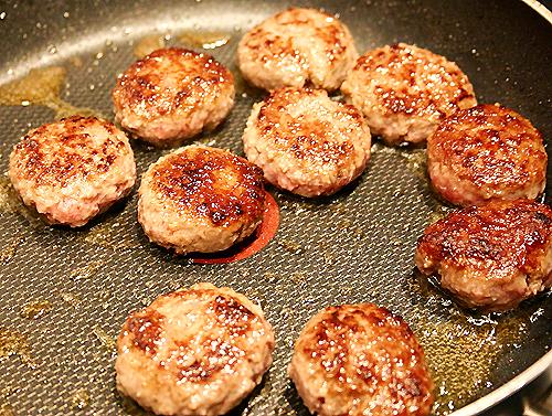 香料肉丸佐奶油蘑菇-071218