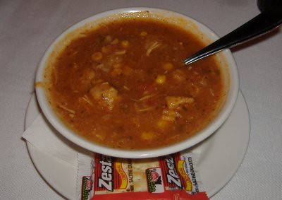 Dave & Buster's - Chicken Tortilla Soup