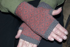 Mom's endpaper mitts