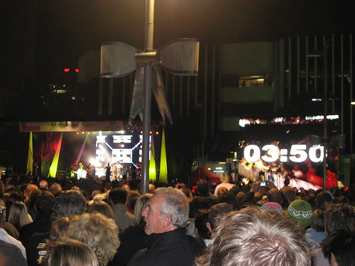 New Year's Eve Countdown in Christchurch - 2007/8