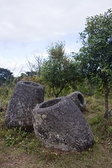 Plain of Jars (site 2) (Keith Kelly) Tags: city megalithic rock stone mystery carved ancient masonry enigma historic sacred mysterious burial laos plain jars funerary enigmatic megalith ritualistic mythic chiseled chiselled site2 phonsavan xiengkhuang revered laopeoplesdemocraticrepublic laopdr xiengkhuangprovince haihinphusalato
