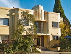 Melbourne Art Deco House (colros) Tags: architecture melbourne landmark artdeco streamlinemoderne