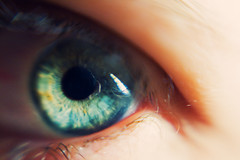 Day 32: Eye (Angela.) Tags: selfportrait macro eye lensbaby digital canon rebel raw explore angela spacegirl 365days explored xti img5792 400d 366days canondigitalrebelxti lensbaby3g lensbaby06xwideanglemacroconversionlens