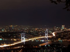 istanbul's necklace (B@ni) Tags: bridge light night turkey necklace kodak quality trkiye istanbul turquie trkei turkije turquia bosphorus boazii kpr boaz tyrkiet gece turchia turkki k turkiet tyrkia amlca tyrkland gerdanlk thebestofday gnneniyisi fotografca