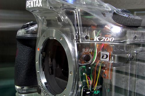 PENTAX K200D Skeleton 02
