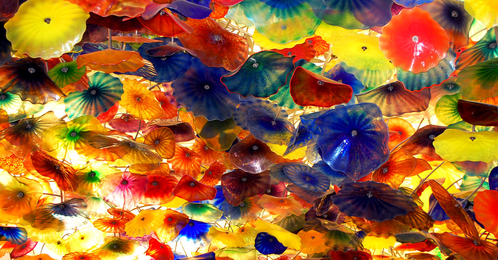 Colorful Glass Flowers