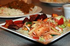 Mixed kebab starter from Sonar Gao, Edinburgh