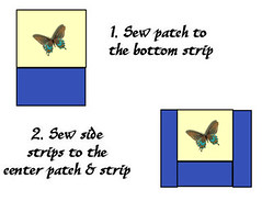 step 2 (ezri_b) Tags: reading handmade embroidery sew case pillow fabric patch cushion tutorial sewn embroider