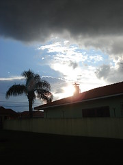 fin de journe (dbronguel) Tags: nuvens crepusculo pontagrossa