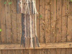 Valentine's scarf in Manos