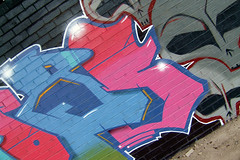 Mobs High (ChicKpeaS) Tags: nottingham graffiti oxygen thievez
