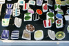 Porcelain jewels (Made with love by Cecilie) Tags: china vintage jewelry retro sterling porcelain stiglindberg gustavsberg rorstran cutstockholmkollafebruaryswedenjury