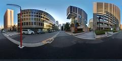 Unsteady (heiwa4126) Tags: panorama japan geotagged tokyo 360 panoramic handheld hibiya hdr 360x180 hdri shinbashi ptgui equirectangular d80 hapala enfuse heiwa4126 geo:lat=356701747 geo:lon=1397537906