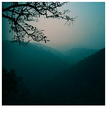 sleepy valley (saicode) Tags: blue mist fog sunrise soft silent valley beforesunrise silentvalley magicallight sleepyvalley
