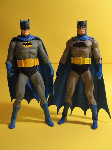 Earth One and Earth Two Batmans