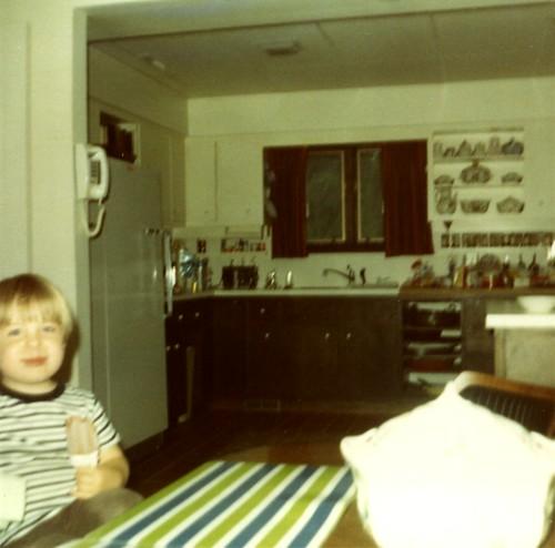 Professor's Glorious Kitchen, August, 1970.